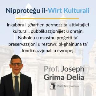 4. Nipprotegu il-Wirt Kulturali